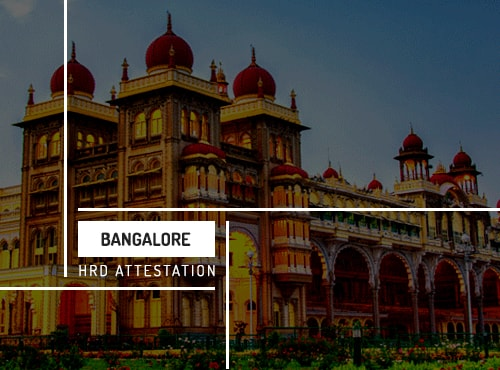 Bangalore HRD Attestation