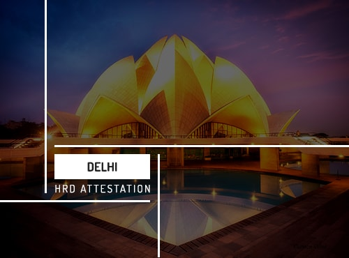 Delhi HRD Attestation