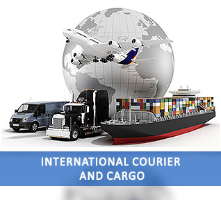 International courier and cargo