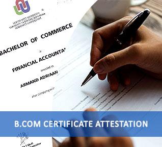 bcom certificate attestation