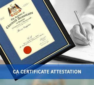 ca certificate attestation