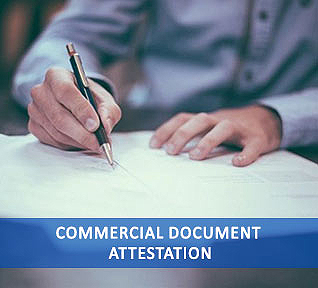 commercial document attestation