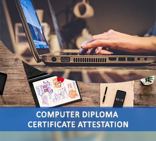 computer diploma certificate attestation