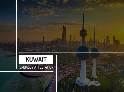 Kuwait Embassy Attestation Services