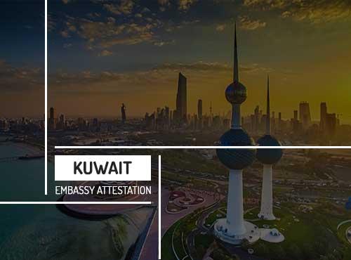 Kuwait Embassy Attestation Services