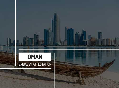 Oman Embassy Attestation Services