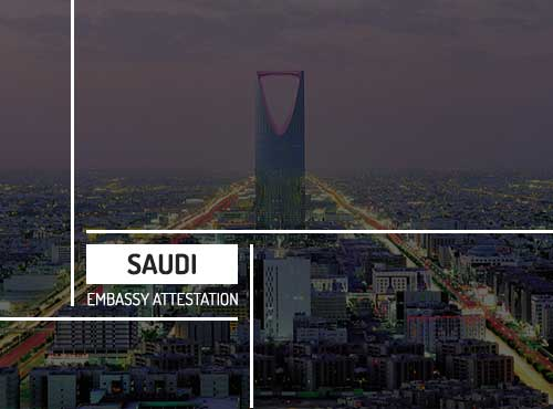 Saudi Embassy Attestation Services