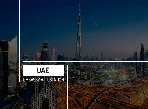 UAE Embassy Attestation Services