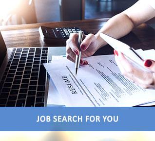Job search recruitment service