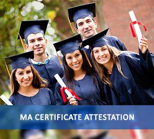 ma certificate attestation