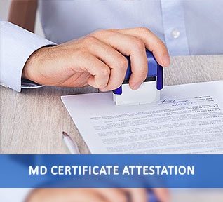 md certificate attestation