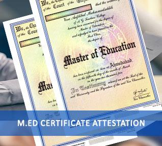 med certificate attestation