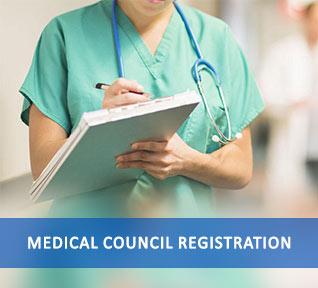medical council registration
