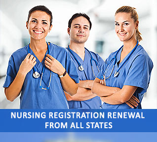 nursing registration renewal