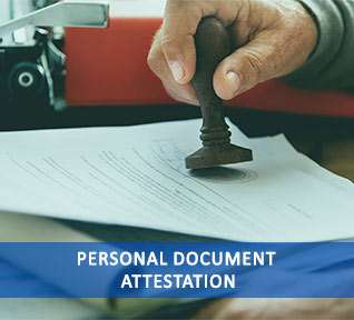 personal document attestation