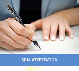 sdm attestation