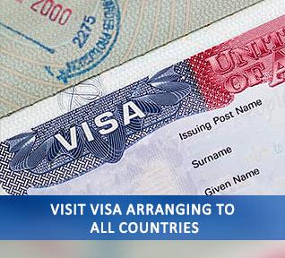 visit visa arranging to all countries